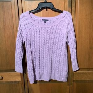 Violet Knit Sweater
